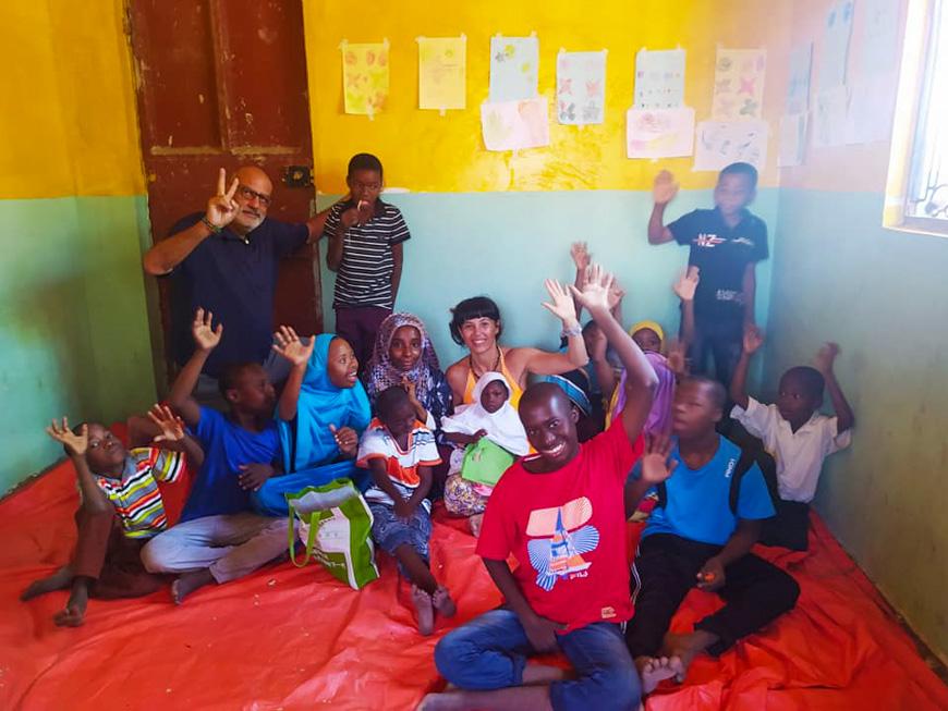 Una scuola per bambini con disabilità