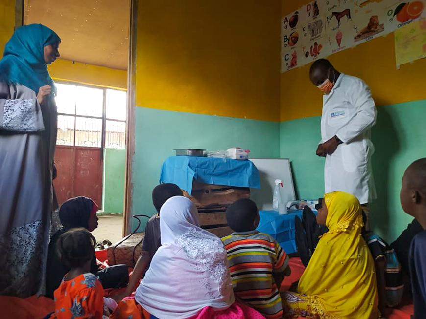 Cure mediche per bambini con disabilità